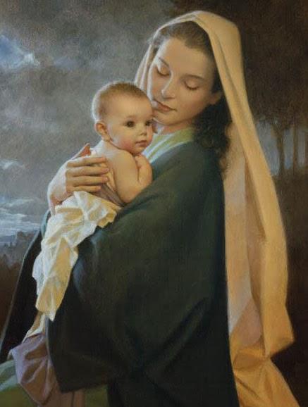 Catequesis sobre nuestra madre celestial la sant sima virgen mar a - Divinos pucheros maria jose ...